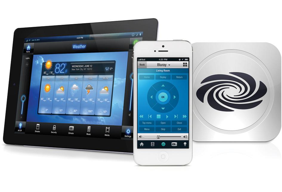 Domotica ipad huis bedienen met ipad iphone of android for Badkamer ontwerpen app ipad